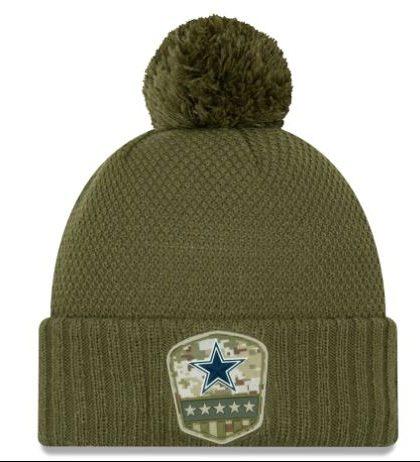 Dallas Cowboys New Era Women's Salute to Service Sideline ...